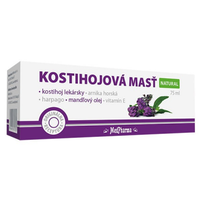 Kostihojová masť  NATURAL, 1 x 75 ml