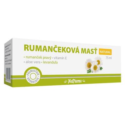 Rumančeková masť NATURAL, 1 x 75 ml