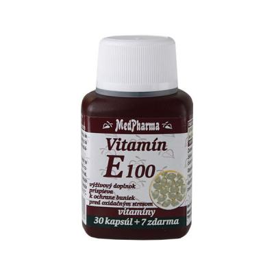 Vitamín E 100, 37 tbl
