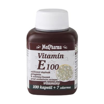 Vitamín E 100, 107 tbl