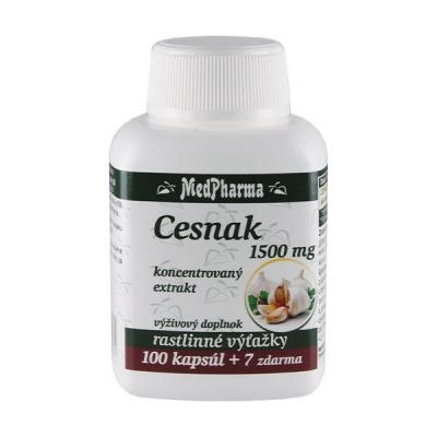 Cesnak 1500 mg, 107 kpsl