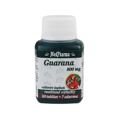 Guarana 800 mg, 37 tbl