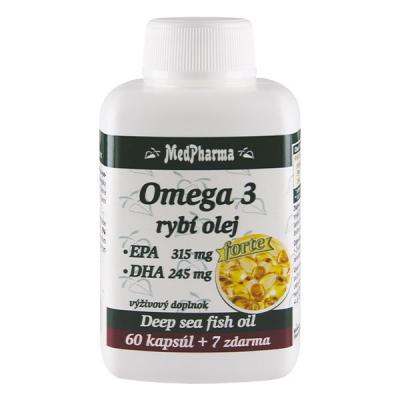 Omega 3 rybí olej Forte, 67 kpsl