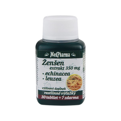 Žen-šen + Echinacea + Leuzea, 37 tbl