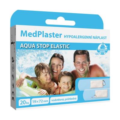 MedPlaster Náplasť AQUA STOP ELASTIC, 20 ks