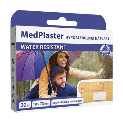 MedPlaster Náplasť WATER RESISTANT, 20 ks