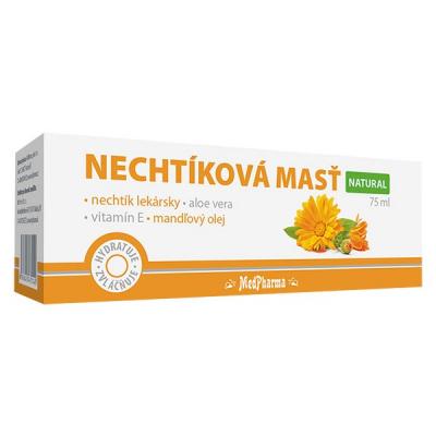 Nechtíková masť  NATURAL, 1 x 75 ml - výpredaj