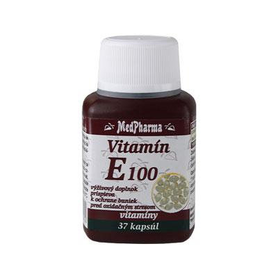 Vitamín E 100, 37 tbl - výpredaj