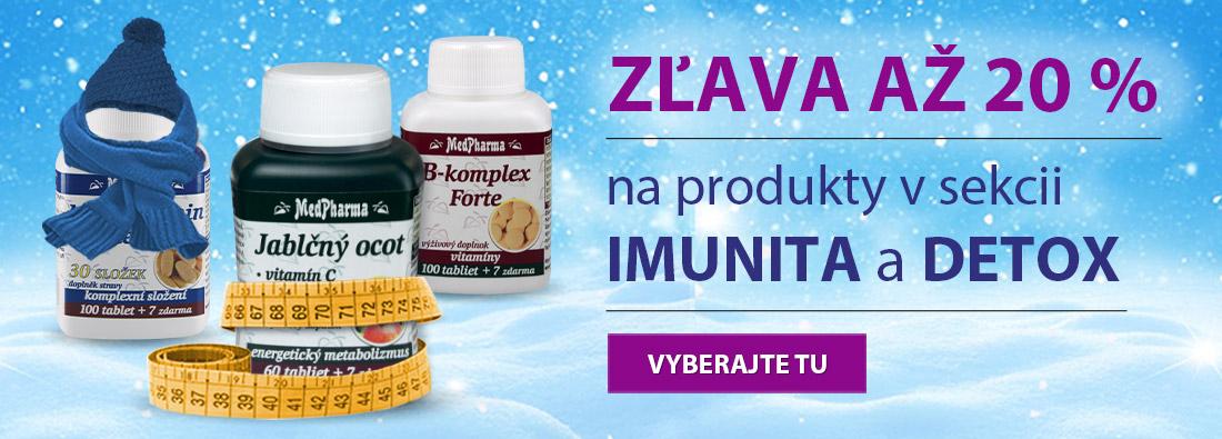 Novoročný detox a posílenie imunity